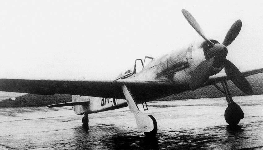 Немецкий истребитель Focke-Wulf Ta 153