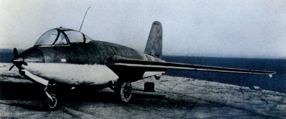 Немецкий истребитель Messerschmitt Me 263 (Junkers Ju 248)