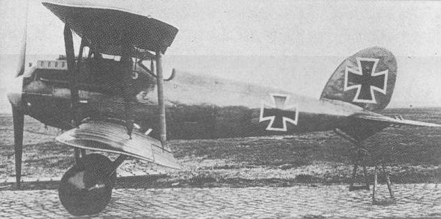 Германский истребитель Albatros D.VII