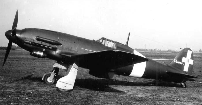 """Итальянский истребитель Macchi MC.205N """"Orione"""""""