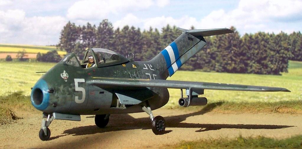 "Немецкий истребитель Focke-Wulf Та 183 ""Huckebein"""