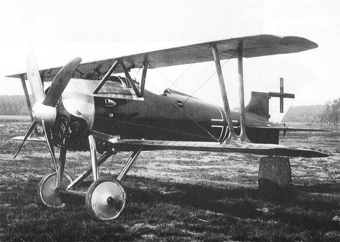Германский истребитель Siemens-Schuckert D.III