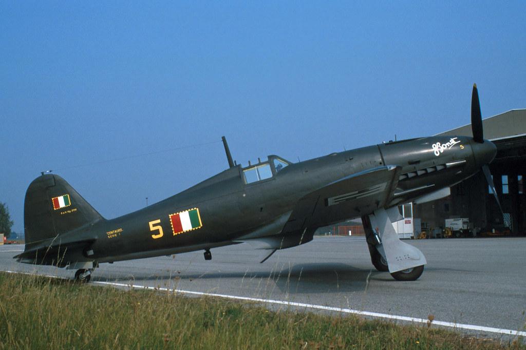 """Итальянский истребитель Fiat G.55 """"Centauro"""""""