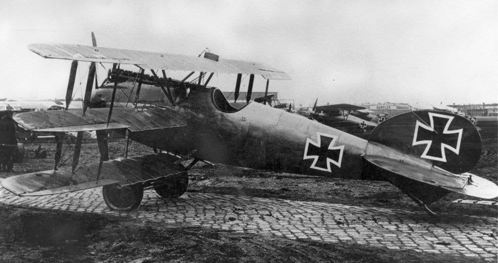 Германский истребитель Albatros Dr.I