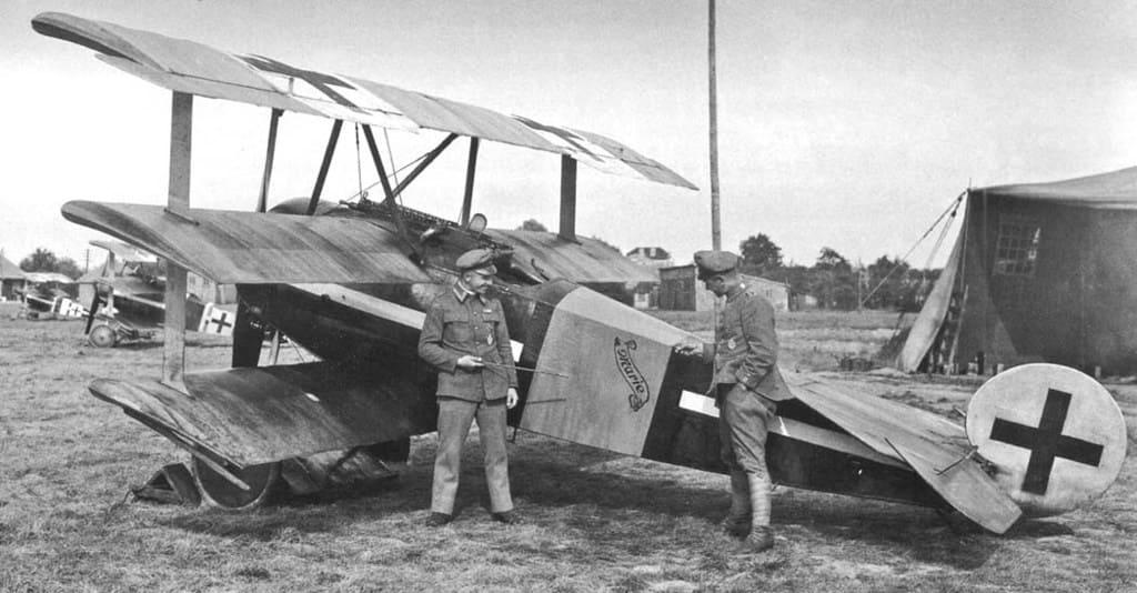 Германский истребитель Fokker Dr.I