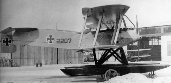 Германский истребитель Brandenburg W.19
