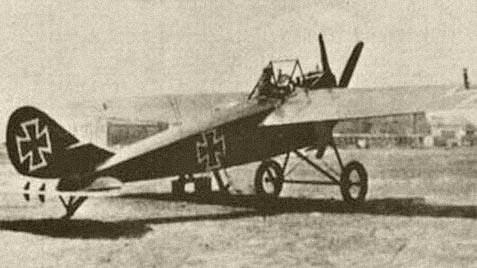 Германский истребитель NFW E.II