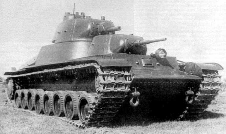 Советский тяжёлый танк Т-100
