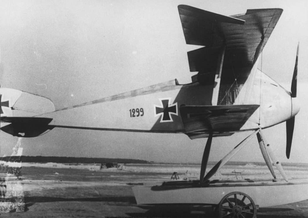 Германский истребитель LTG FD.1