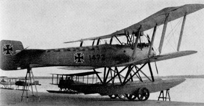 Германский истребитель Friedrichshafen FF.48