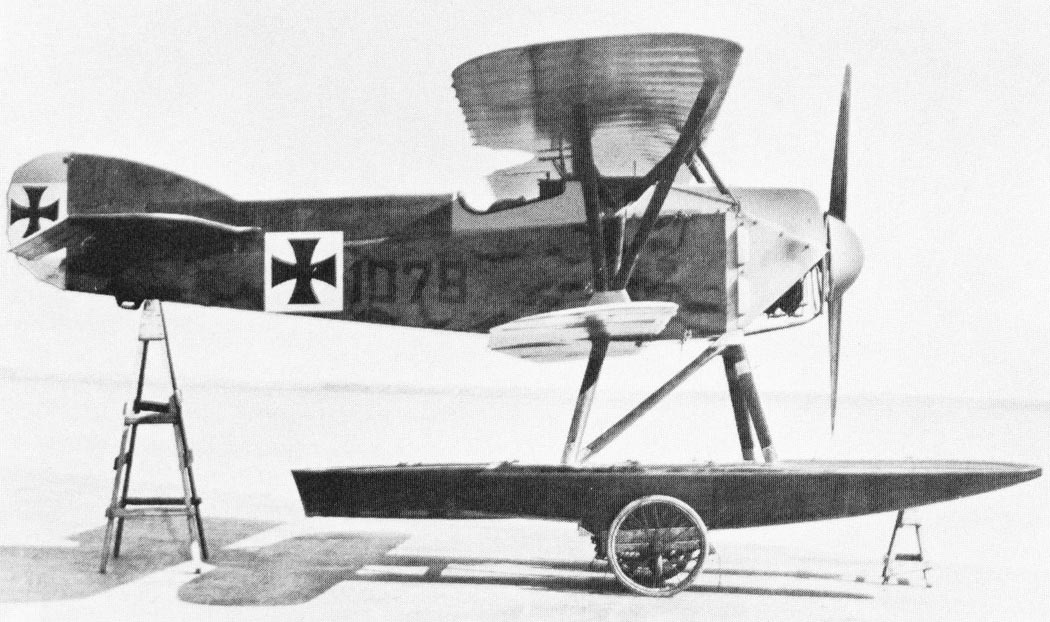 Германский истребитель Hansa-Brandenburg W.16