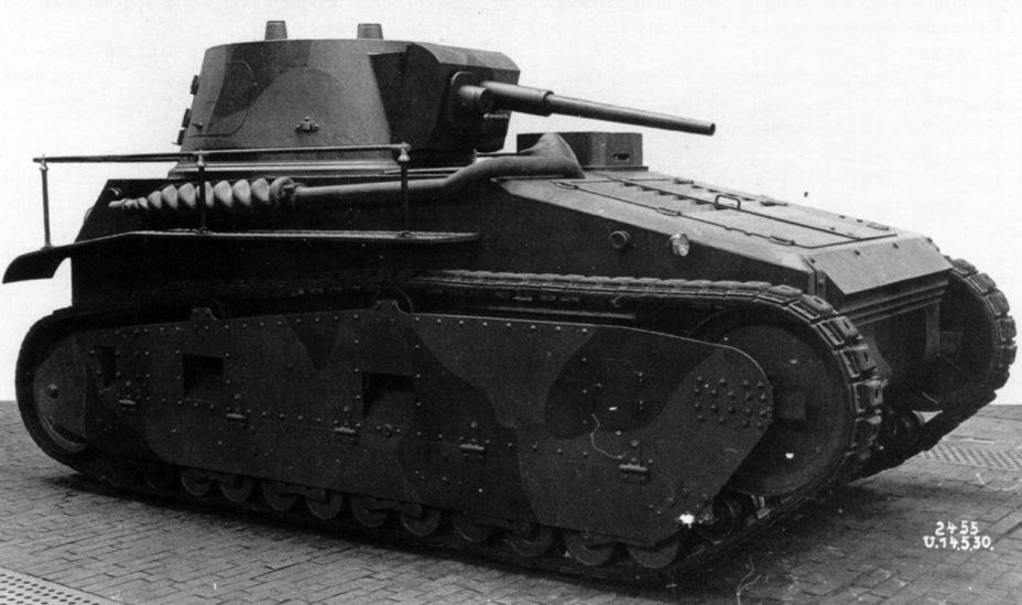 """Немецкий лёгкий танк """"Leichttraktor"""""""