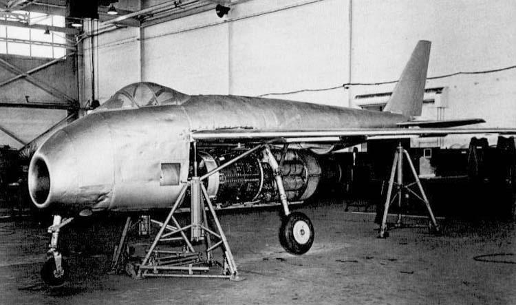 Немецкий истребитель Messerschmitt Р 1101