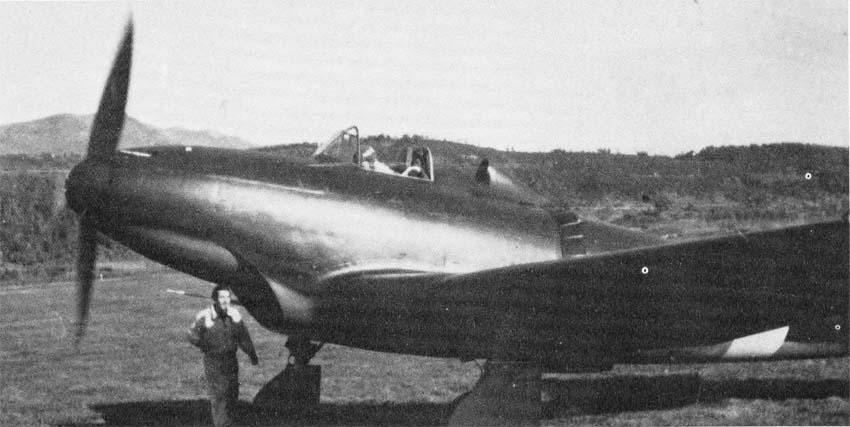 Итальянский истребитель Piaggio P.119