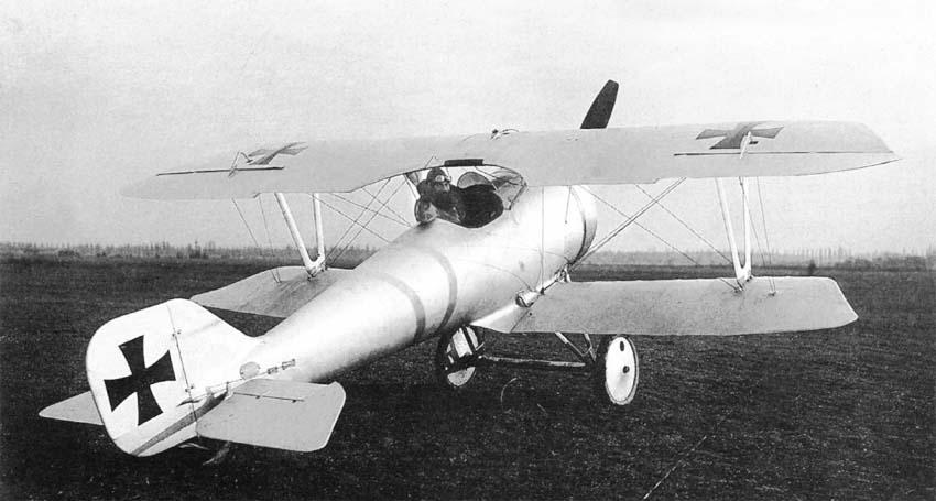 Германский истребитель Pfalz D.VI