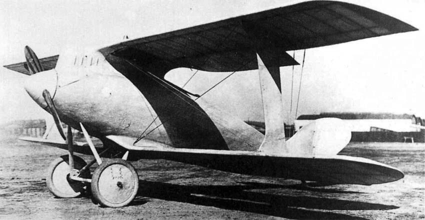 Германский истребитель Rumpler 7D1
