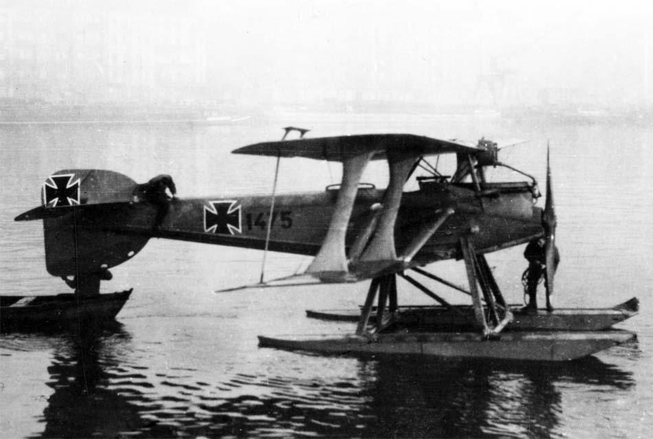 Германский истребитель Sablatnig SF.7