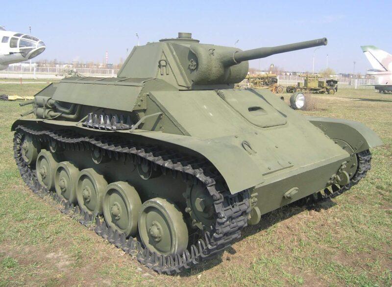 Советский лёгкий танк Т-70