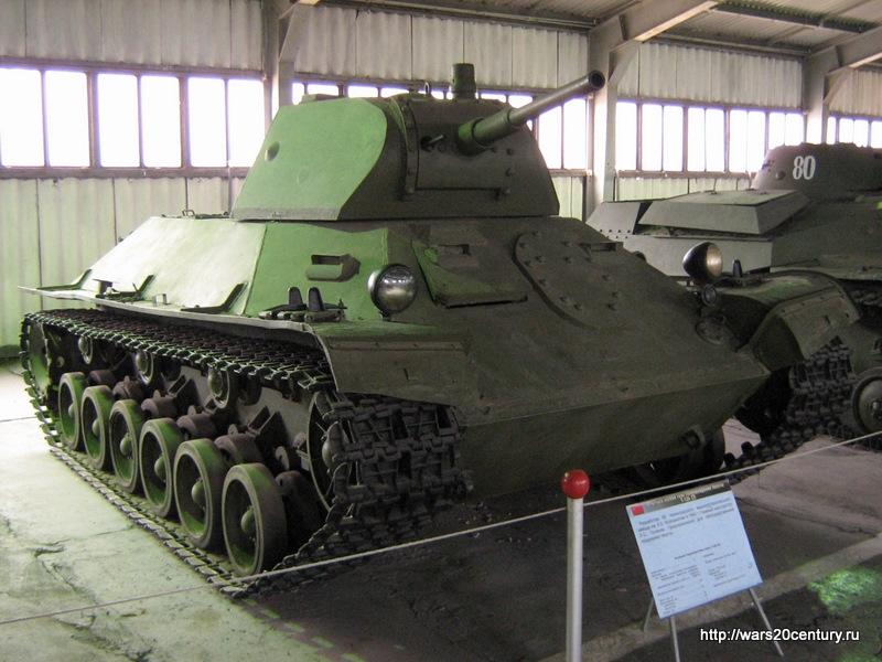 Советский лёгкий танк Т-127