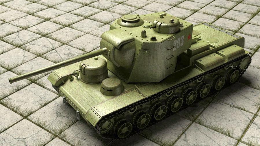 Тяжёлый штурмовой танк КВ-5