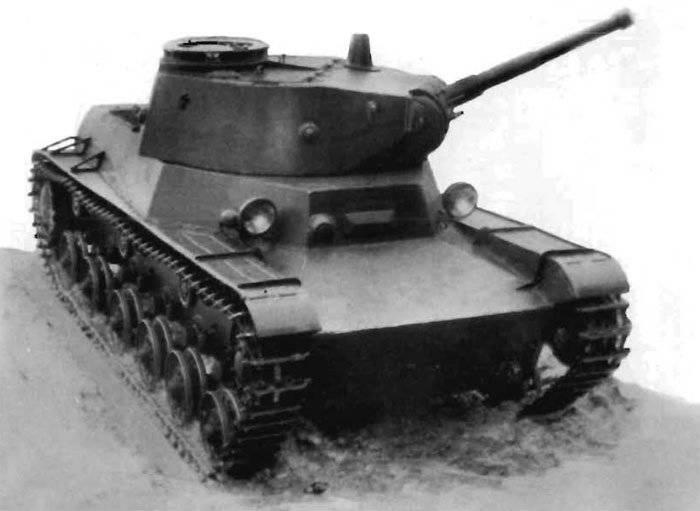 Советский лёгкий танк Т-50 («Объект 211»)