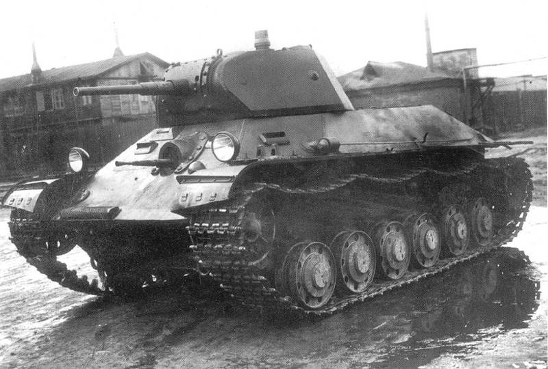 Советский лёгкий танк Т-126СП
