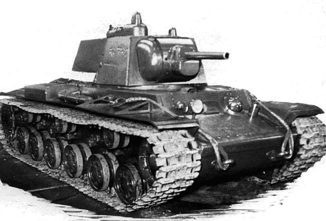 Тяжёлый штурмовой танк КВ-3 («Объект 150»)