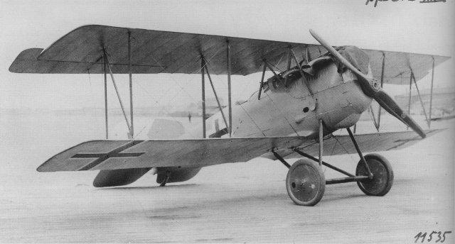 Германский истребитель Pfalz D.XIV
