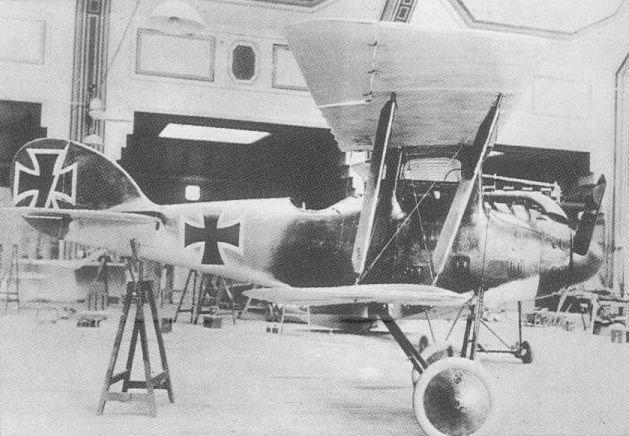 Германский истребитель L.F.G. Roland D.V