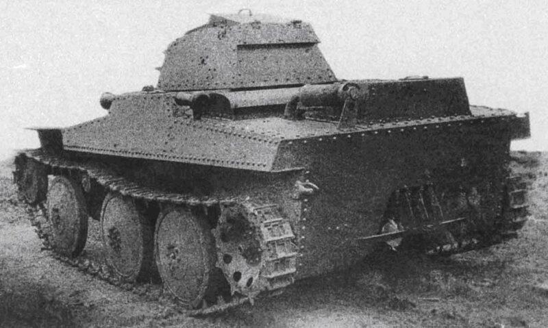 Плавающий колёсно-гусеничный танк Т-43-2