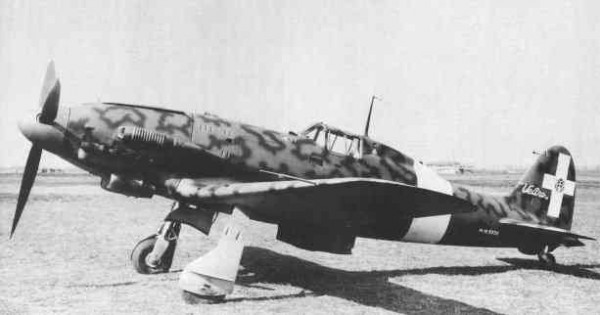 Итальянский истребитель Macchi MC.207