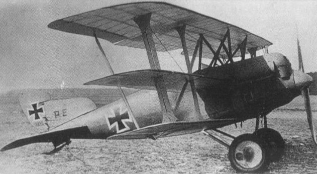 Германский истребитель A.E.G. PE