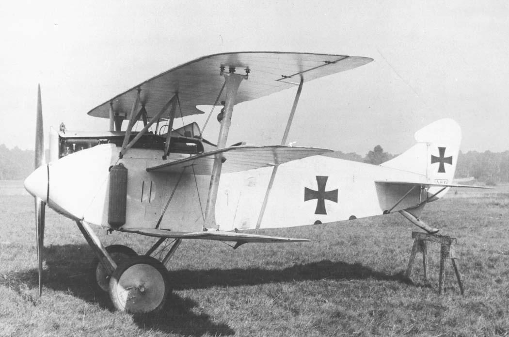 Германский истребитель A.E.G. Dr.I