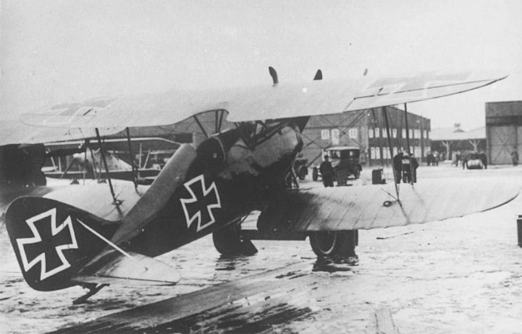 Германский истребитель DWF T.34