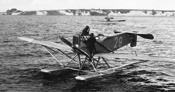 Германский истребитель Brandenburg W.29