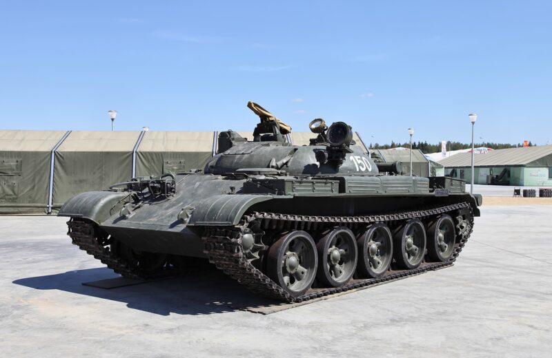Советский ракетный танк ИТ-1