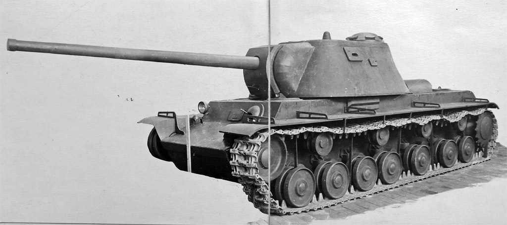 Тяжёлый штурмовой танк КВ-3 («Объект 223»)