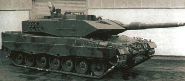 Экспериментальный немецкий танк KVT