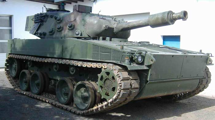Немецкий танк PUMA PT1