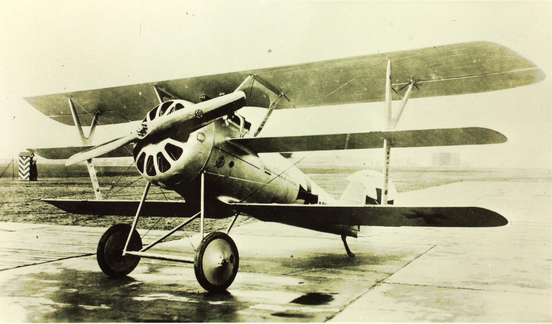 Германский истребитель Pfalz Dr.I