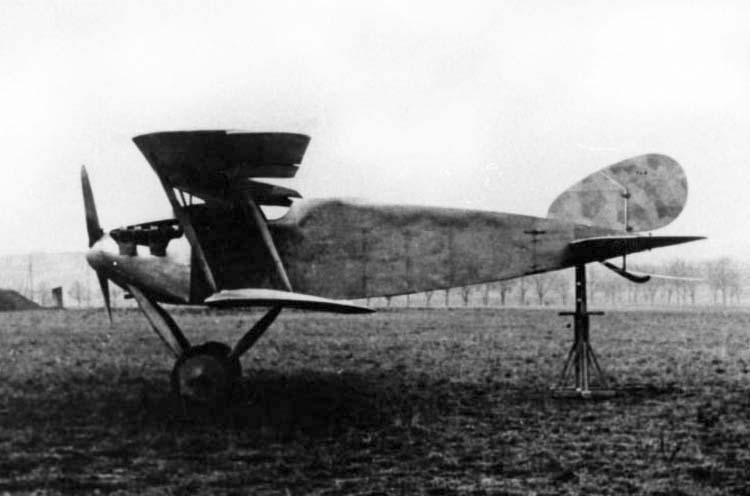Германский истребитель Daimler CL.I