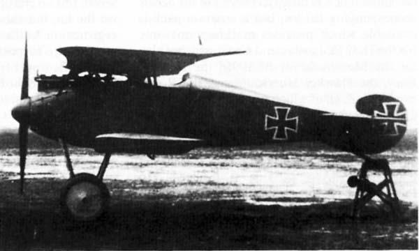 Германский истребитель Geest Jagdflugzeug