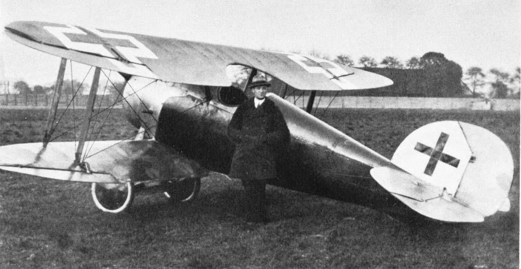 Германский истребитель Kondor D.I