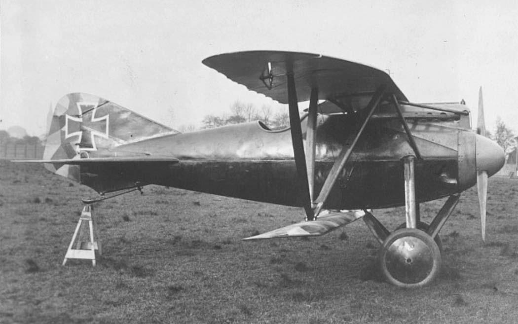 Германский истребитель Kondor D.7