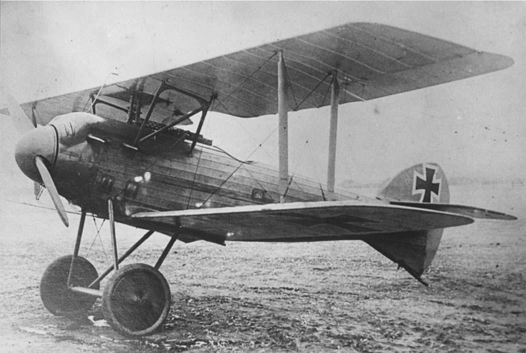 Германский истребитель LFG Roland D.VII
