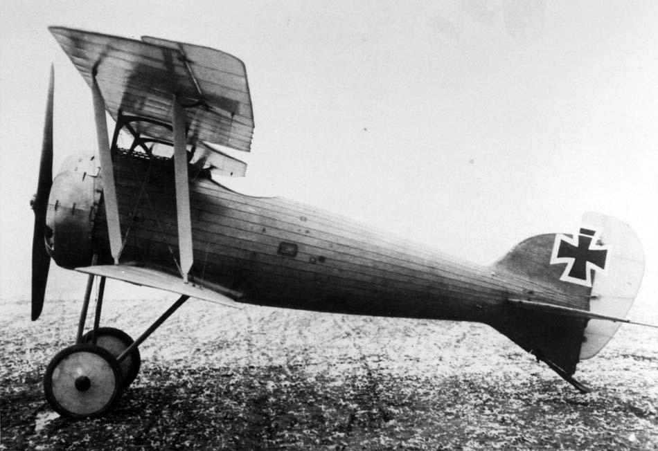 Германский истребитель L.F.G. Roland D.IX