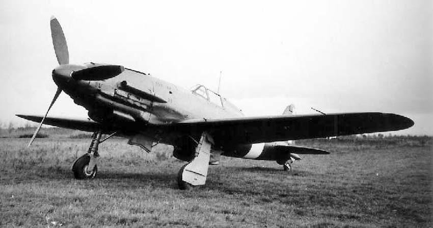 Итальянский истребитель Macchi MC.206