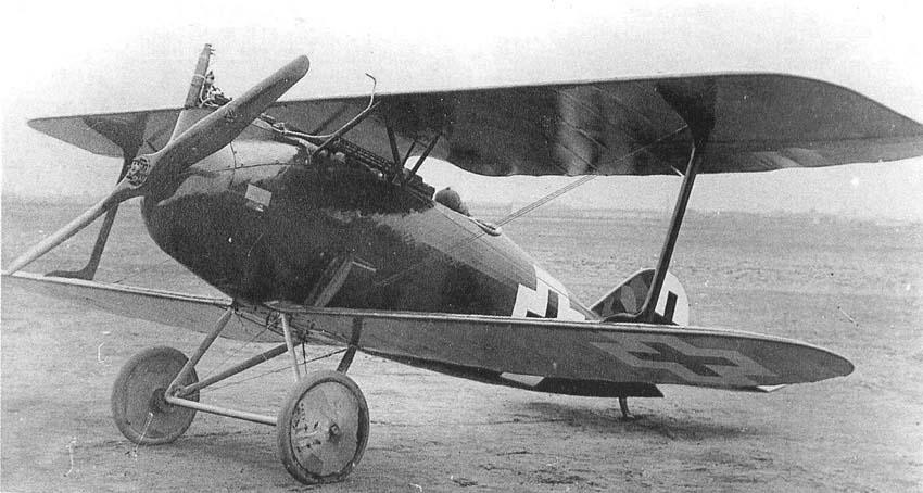 Германский истребитель Rumpler D.I