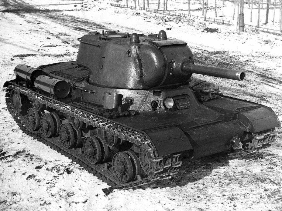 Советский тяжёлый танк ИС №2