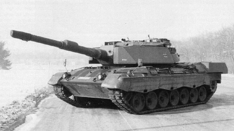 Немецкий основной танк Leopard 1A6